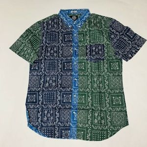 Reyn Spooner Mens Hawaian Shirt Size Large Orig